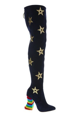 Stars Thigh High Boots