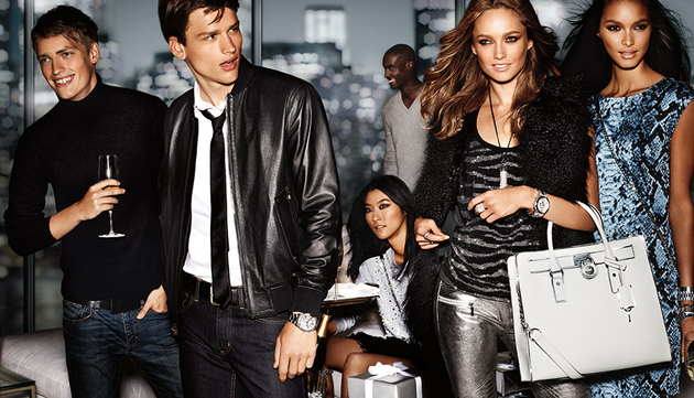 Michael Kors Holiday 2013 Campaign Shots