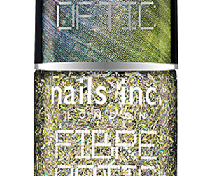 Take a look at the cool new nail polish effects created by Nails Inc and pick your favorite shades from the Fibre Optic collection.