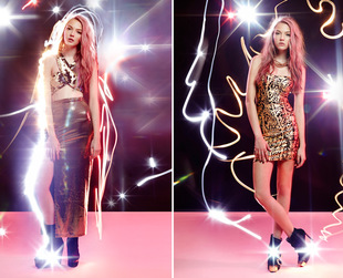 See what online retailer Nasty Gal prepared for the festive season! Check out the new Party Shop lookbook.