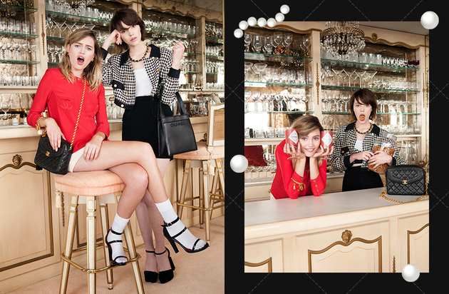 Nasty Gal Vintage Chanel Lookbook