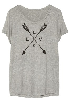 Net A Porter The Hunger Games Capitol Couture Gray Tee