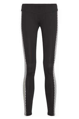Net A Porter The Hunger Games Capitol Couture Side Print Leggings