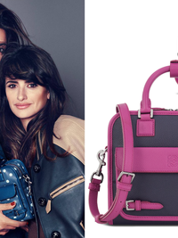 Penelope Cruz and Her Sister Monica Star in the Loewe Cruz Bag Campaign