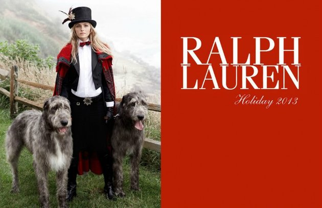 Ralph Lauren Holiday 2013 Campaign