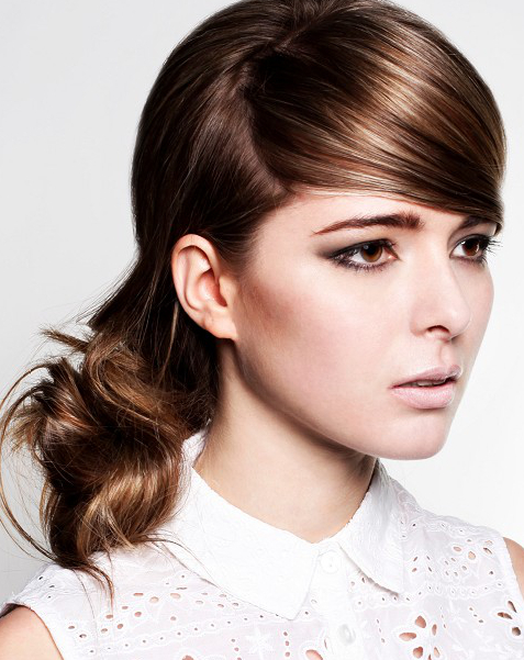 Pictures : Simple Hairstyles for Greasy Hair - Ponytail ...