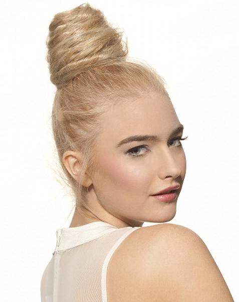 Pictures : Simple Hairstyles for Greasy Hair - Twist Bun ...