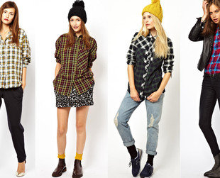 Plaid has made a great comeback this fall. This edgy 90s style is one of the trends that immediately became a street style trademark. Here are 4 great tips on how to wear plaid.