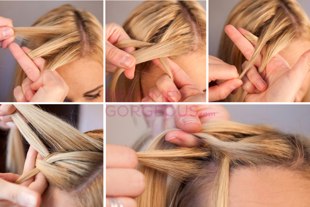 How To Waterfall Braid Hair
