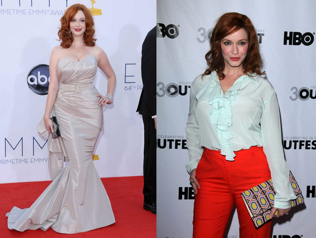 Christina Hendricks Body Shape