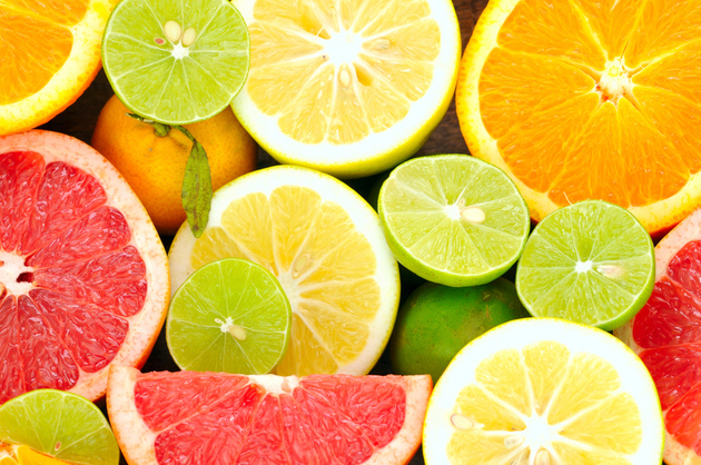 list of citrus fruits fruits and vegetables