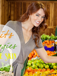 10 Fruits and Vegetables that Are Good for the Skin