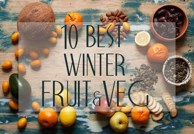 10 Healthiest Winter Fruits and Vegetables