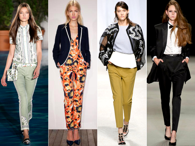 Masculine Inspired Spring 2014 Trends