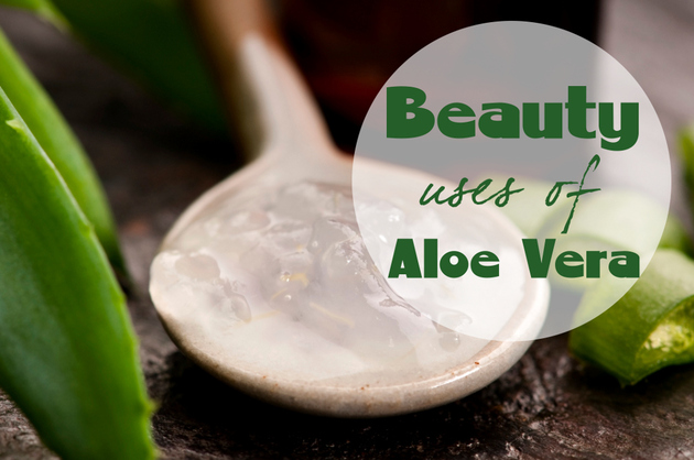 8 Great Beauty Uses of Aloe Vera