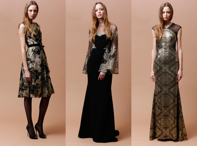 Badgley Mischka Pre Fall 2014 Looks (1)