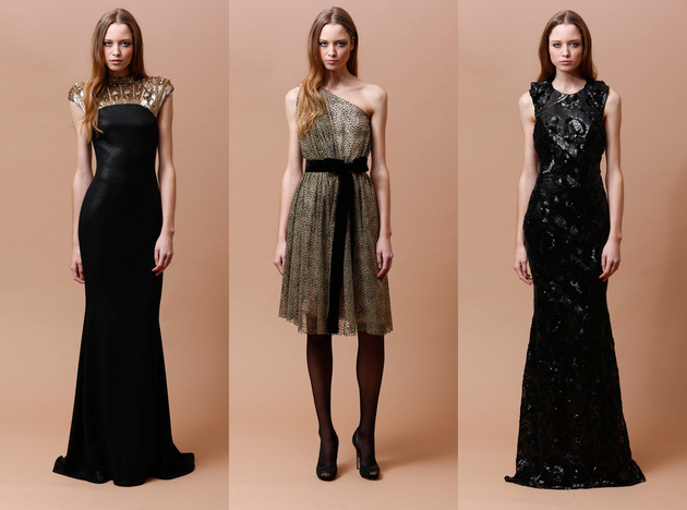 Badgley Mischka Pre Fall 2014 Looks (2)