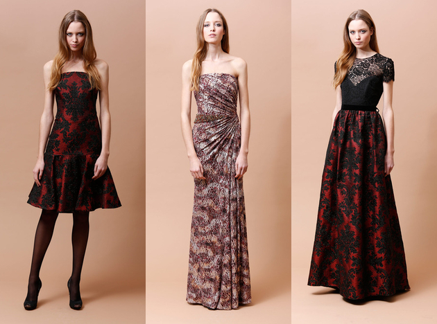 Badgley Mischka Pre Fall 2014 Looks (3)