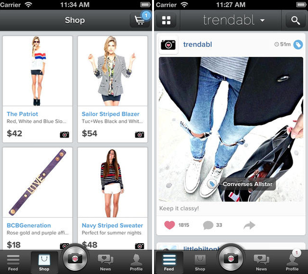 Trendabl Fashion App