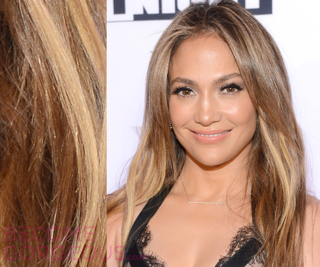 Jennifer Lopez Blonde Hair Highlights