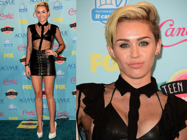 Miley Cyrus 2013 Teen Choice Awards Style