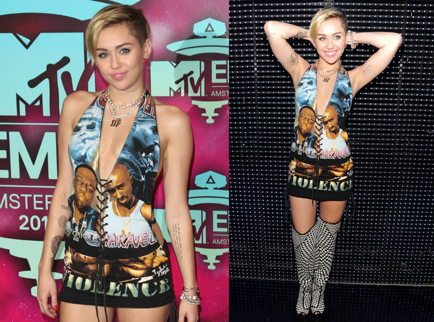 Miley Cyrus European Music Awards 2013