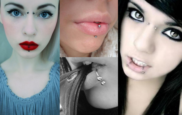 Lip Piercings