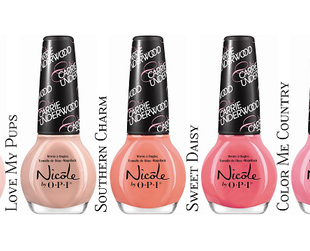 Have a look at the cool new Carrie Underwood for Nicole by OPI nail polish collection which will soon hit the counters!