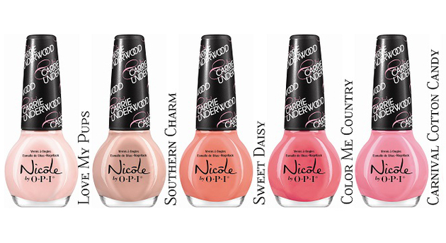 Carrie Underwood Nicole By Opi Line