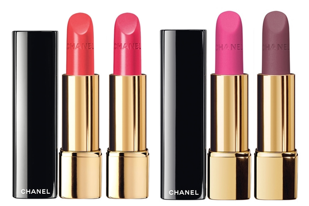 Chanel Lipsticks 2014