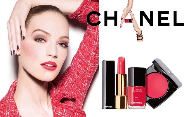 Chanel Notes du Printemps Spring 2014 Makeup Collection