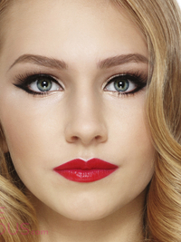 pictures  christmas makeup looks and ideas  festive eye