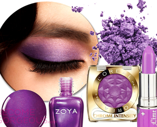After Emerald made a splash in 2013 in fashion and interior design, look out for Radiant Orchid, a beautiful shade of purple, named by Pantone the color of 2014.