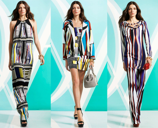 Venice and New York have inspired the newest Diane von Furstenberg pre-fall 2014 collection. Check it out!