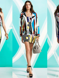 Diane von Furstenberg Pre-Fall 2014 Collection