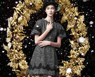 Is your style feminine and classy? If so, the new Dolce & Gabbana holiday 2013 campaign might be a good source of inspiration for the upcoming festive days.