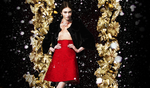 Dolce & Gabbana Holiday 2013 Campaign