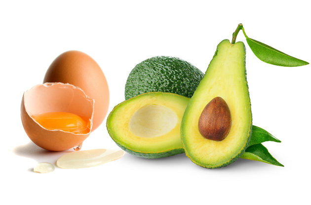 Avocado And Egg