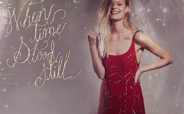 Free People When Time Stood Still Holiday 2013 Lookbook