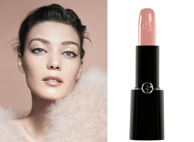 Giorgio Armani Effeto Nudo Spring 2014 Collection