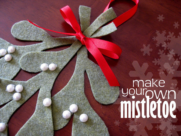 Homemade Mistletoe