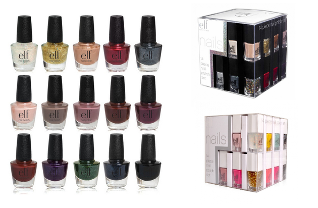 E.L.F Vegan Nail Polishes