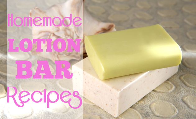 Homemade Lotion Bar Recipes