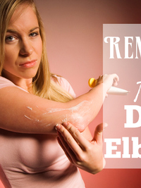 How to Fix Dry Elbows