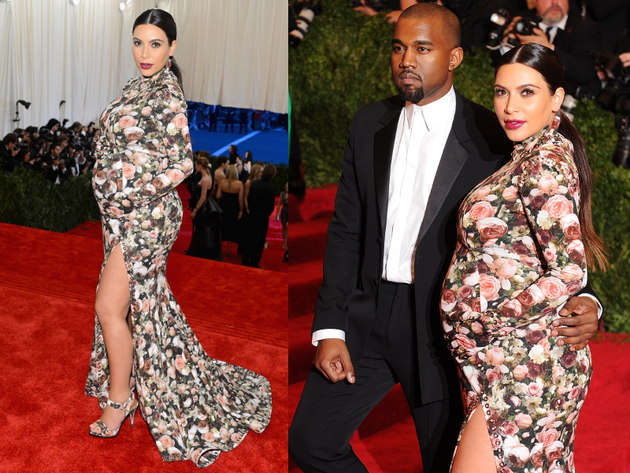 Kimye At The Met Ball 2013