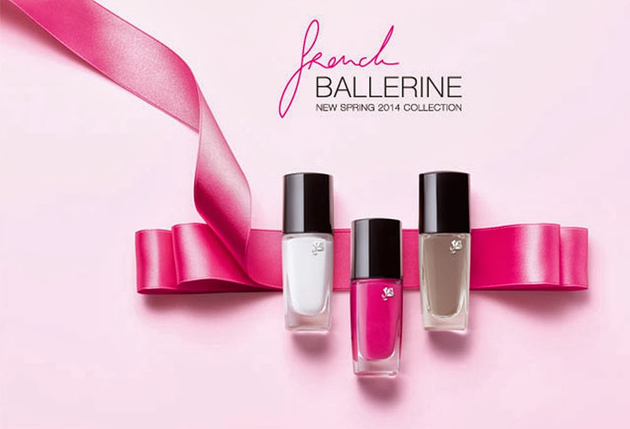 Lancome French Ballerina Spring 2014 Nail Polishes