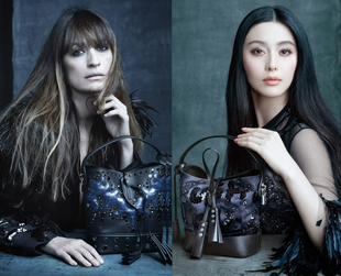 Have a look at the first ads from the upcoming Louis Vuitton spring 2014 campaign which pays tribute to Marc Jacobs' muses.