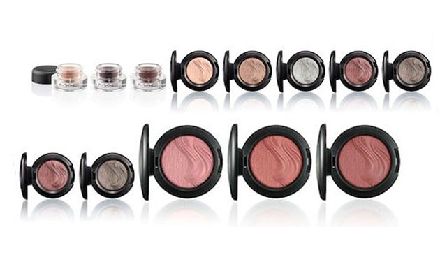 Mac Magnetic Nude 2014 Eyeshadows Fluidline And Blushes