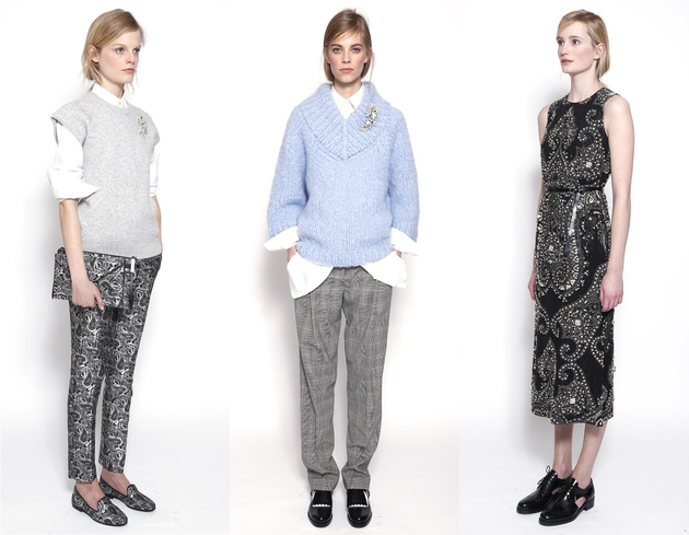 Michael Kors Pre Fall 2014 Looks  (10)