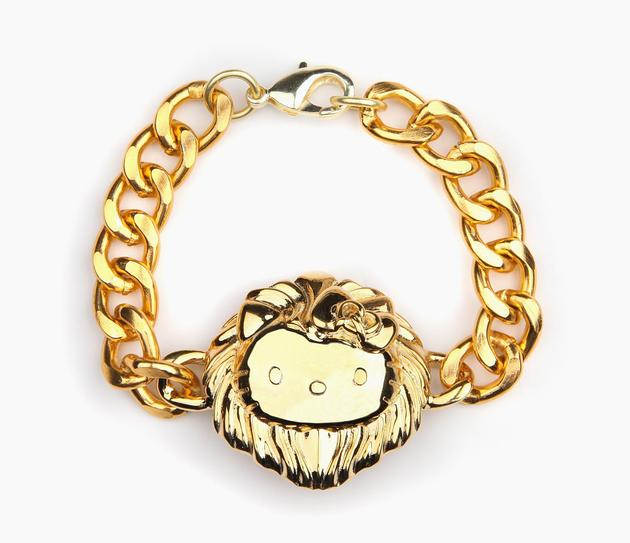 Onch X Hello Kitty Gold Plated Medallion Bracelet